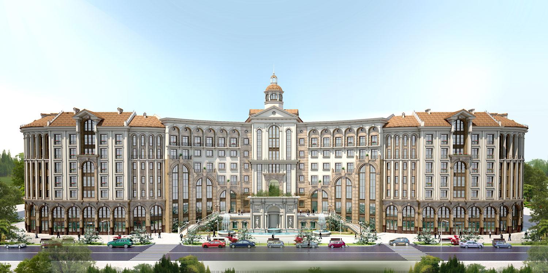 Статьи: Корпорация «Базис-А»   представила новый жилой комплекс «Городской романс, Итальянский квартал» в Астане