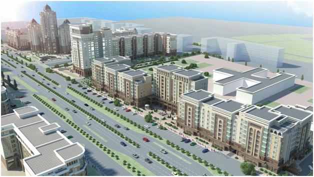 Статьи: Стремительное развитие нового района Астаны