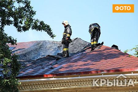 Новости: В Алматы горело здание на Арбате