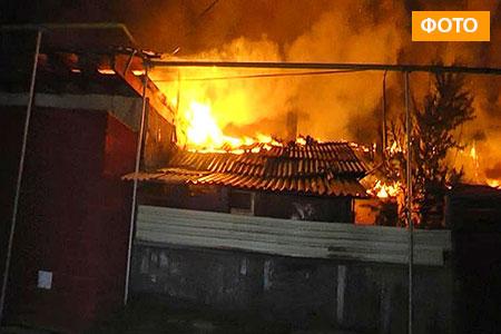 Новости: В Алматы дотла сгорело 9 жилых  домов