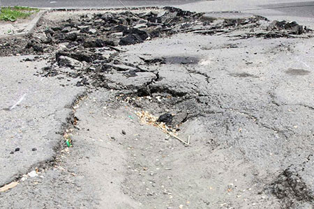 Новости: ВАлматы будут штрафовать занекачественный ремонт дорог
