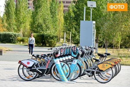 Новости: На правом берегу Астаны появились велопрокаты