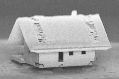 Новости: Учёные собрали самый маленький вмире домик