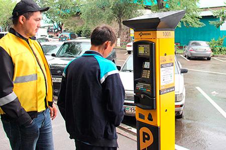 Новости: Платные парковки вернулись в Алматы