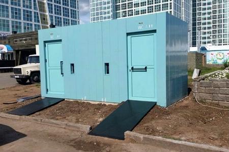 Новости: В столице меняют уличные туалеты