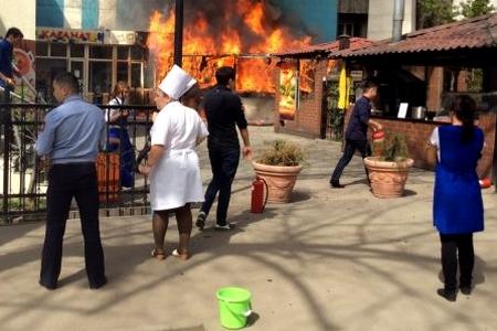 Новости: 13 апреля в Алматы произошло 10 пожаров