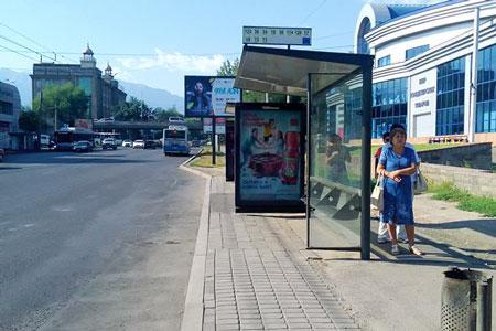 Новости: Алматинцы недовольны новыми остановками