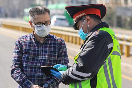 Новости: Проверка права передвижения по Алматы в приложении Kolesa.kz