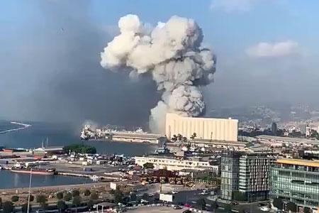 Новости: ВБейруте из-за взрыва химикатов пострадало полгорода