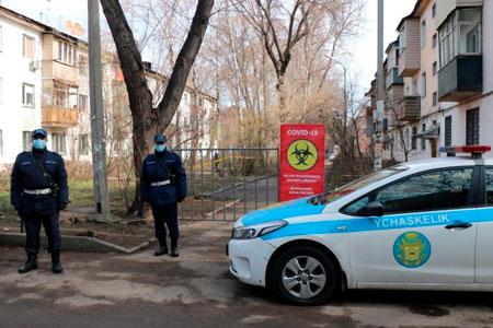 Новости: Ещё несколько домов оцепили вАлматы из-за коронавируса