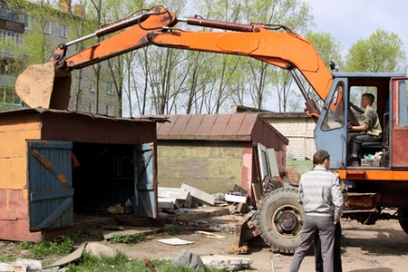 Новости: Астана: гаражи приговорили к сносу