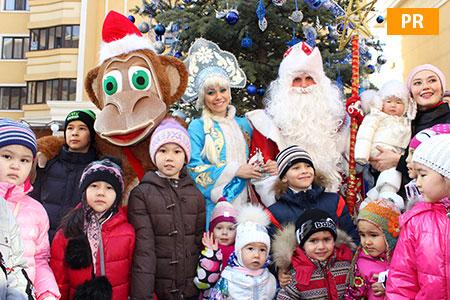 Статьи: Koktobe city отметил наступающий Новый год своей большой семьёй!
