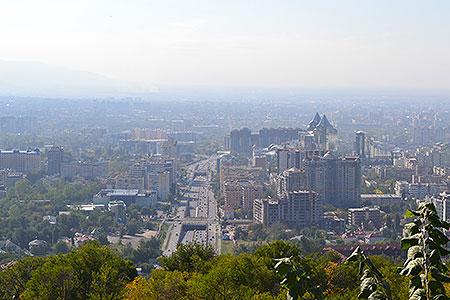 Новости: Алматы требуется 33 экологических поста
