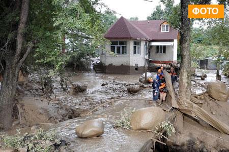 Новости: Сель повредил в Алматы больше ста домов