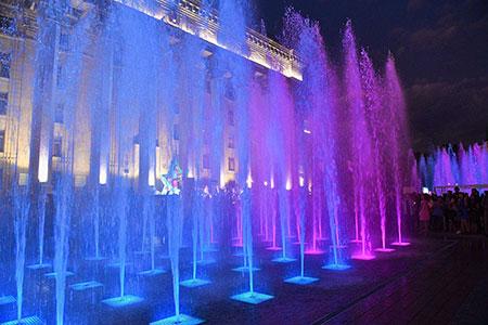 Новости: В Алматы построят девять новых фонтанов