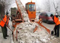 Новости: Усть-Каменогорск: коммунальщики требуют договора навывоз снега