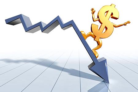Новости: Доллар подешевел ещё на несколько пунктов
