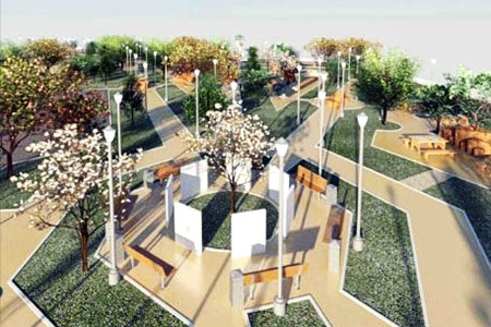Новости: Где встолице появятся новые скверы ибульвары