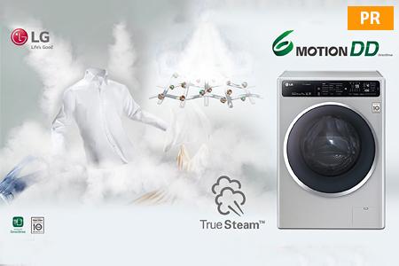 Статьи: Стиральные машины с функцией True Steam от LG Electronics