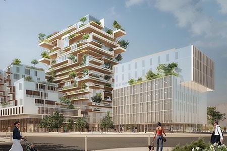 Новости: Деревянный небоскрёб построят во Франции