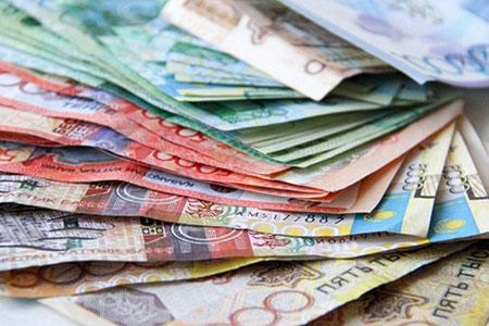 Новости: Курс тенге к доллару укрепился до 341