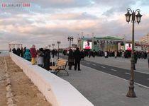 Новости: В Актау открыли новую набережную