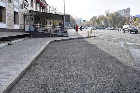 Новости: В Алматы, на ул. Желтоксан, расширят пешеходную зону
