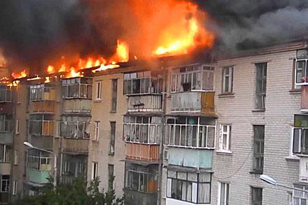 Новости: Алматы: погорельцам дали временное жильё