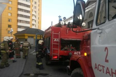 Новости: Астана: в посольстве РФ произошёл пожар (фото)