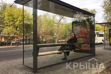 Новости: На улицах Алматы до конца года установят 707остановок