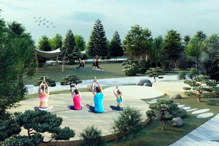 Новости: ВНур-Султане появится парк для йоги