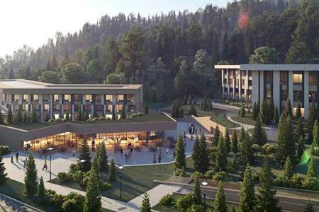 Новости: Как будет выглядеть новая гостиница наМедеу