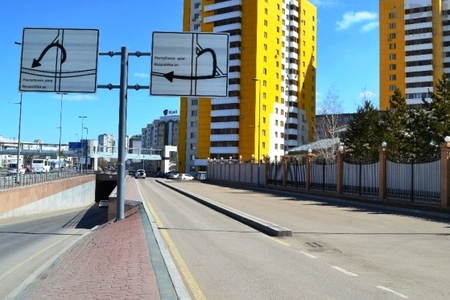 Новости: В Астане закрыли автомобильный тоннель