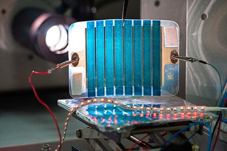 Новости: Учёные разработали гибкую солнечную панель