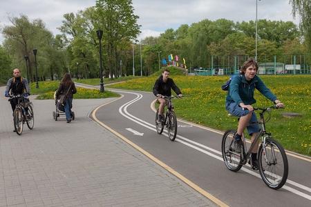 Новости: В Алматы появится кольцевая велодорожка