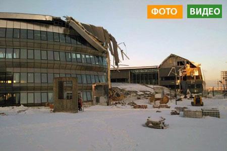 Новости: На одном из зданий ЭКСПО-2017 рухнуло перекрытие