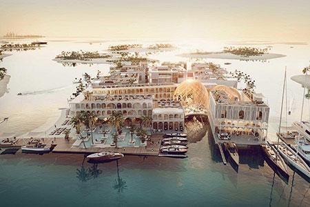 Новости: ВДубае появится Плавучая Венеция за$680 млн