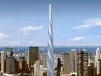 Новости: В Чикаго предложили построить дом-сверло