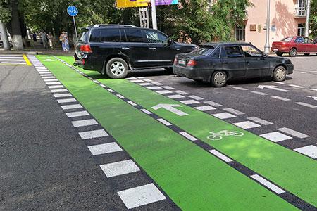 Новости: Астану перестроят для велосипедистов