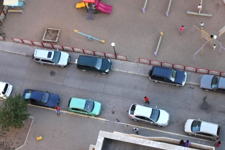 Новости: Астанчане попросили у чиновников парковку
