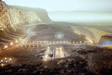 Новости: Каким будет город наМарсе