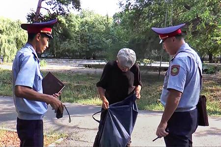 Новости: Полиция Алматы представила «визитку безопасности» Турксибскогорайона