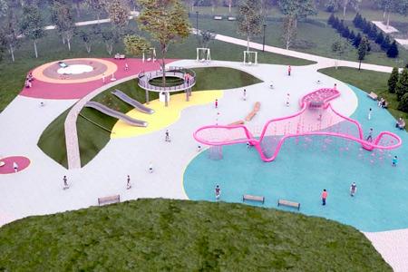 Новости: ВНур-Султане построят необычную детскую площадку