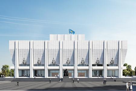Новости: ВАлматы представили новый проект реконструкции театраим.Ауэзова