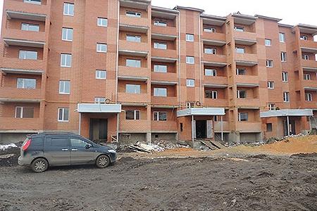 Новости: Нурлы Жол: жители Кокшетау недовольны квартирами