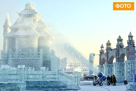 Новости: Китайцы привезут в Астану машины для изготовления снега