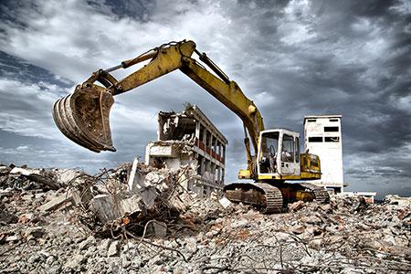 Новости: Снос аварийных домов в Астане продолжается