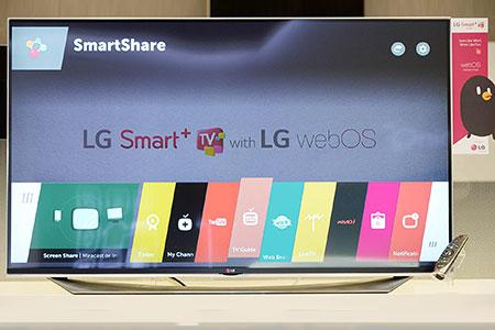 Статьи: Платформа webOS 2.0 от LG – простое управление телевизором
