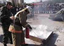 Новости: Школьники Астаны боролись с огнём
