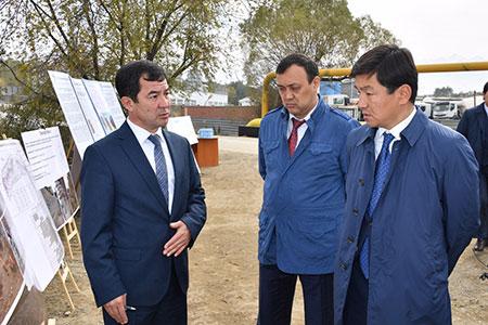 Новости: Байбек проверил арычную сеть иреки Алматы